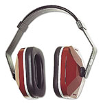 E·A·R E·A·R Model 1000 Earmuffs, 20NRR, Maroon/Black