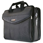 Mobile Edge MEVLP1 Premium V-Load Briefcase - Notebook Carrying Case - Black