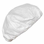 Extensis Tyvek® IsoClean® Bouffant, White, Universal Size