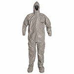 Extensis Attached Socks, XL, Elastic wrists, Tychem F Coverall, Respirator Fit Hood