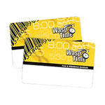 Wasp WaspTime Employee Time Cards Seq 451-500 - Bar Code Card