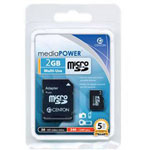 Centon MediaPOWER Flash Memory Card - 2 GB - MicroSD