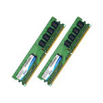 A-DATA™ Memory - 2 GB : 2 X 1 GB - DIMM 240-pin - DDR2