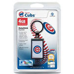 Centon DataStick Keychain MLB Chicago Cubs Edition - USB Flash Drive - 4 GB