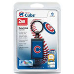Centon DataStick Keychain MLB Chicago Cubs Edition - USB Flash Drive - 2 GB