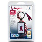 Centon DataStick Keychain MLB Los Angeles Angels Of Anaheim Edition - USB Flash Drive - 2 GB