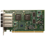 LSI 7404XP-LC - Host Bus Adapter - 4 Ports