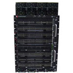 Enterasys S-Series S8 Chassis With 8 Bay PoE Subsystem - Switch