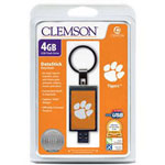 Centon DataStick Keychain Collegiate Clemson Edition - USB Flash Drive - 4 GB