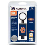 Centon DataStick Keychain Collegiate Auburn University Edition - USB Flash Drive - 4 GB