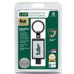 Centon DataStick Keychain Collegiate University Of South Florida Edition - USB Flash Drive - 4 GB