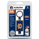 Centon DataStick Keychain Collegiate Auburn University Edition - USB Flash Drive - 2 GB