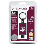 Centon DataStick Keychain Collegiate Texas A&M University Edition - USB Flash Drive - 2 GB