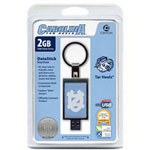 Centon DataStick Keychain Collegiate University Of North Carolina Edition - USB Flash Drive - 2 GB
