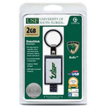 Centon DataStick Keychain Collegiate University Of South Florida Edition - USB Flash Drive - 2 GB