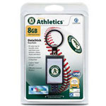 Centon DataStick Keychain MLB Oakland Athletics Edition - USB Flash Drive - 8 GB