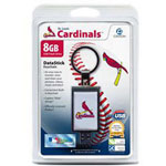 Centon DataStick Keychain MLB St. Louis Cardinals Edition - USB Flash Drive - 8 GB