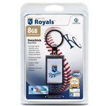Centon DataStick Keychain MLB Kansas City Royals Edition - USB Flash Drive - 8 GB