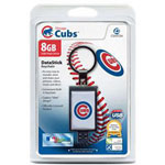 Centon DataStick Keychain MLB Chicago Cubs Edition - USB Flash Drive - 8 GB