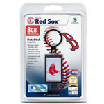 Centon DataStick Keychain MLB Boston Red Sox Edition - USB Flash Drive - 8 GB