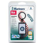 Centon DataStick Keychain MLB Seatlle Mariners Edition - USB Flash Drive - 8 GB