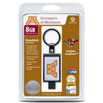 Centon DataStick Keychain Collegiate University Of Minnesota Edition - USB Flash Drive - 8 GB