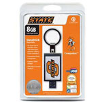 Centon DataStick Keychain Collegiate Oklahoma State University Edition - USB Flash Drive - 8 GB