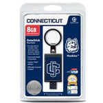 Centon DataStick Keychain Collegiate University Of Connecticut Edition - USB Flash Drive - 8 GB