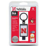 Centon DataStick Keychain Collegiate University Of Nebraska Edition - USB Flash Drive - 8 GB