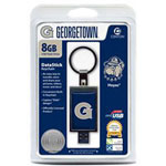 Centon DataStick Keychain Collegiate Georgetown Edition - USB Flash Drive - 8 GB