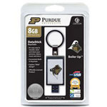 Centon DataStick Keychain Collegiate Purdue University Edition - USB Flash Drive - 8 GB