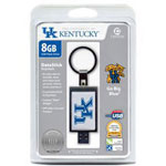 Centon DataStick Keychain Collegiate University Of Kentucky Edition - USB Flash Drive - 8 GB