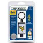 Centon DataStick Keychain Collegiate University Of West Virginia Edition - USB Flash Drive - 8 GB