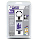 Centon DataStick Keychain Collegiate Kansas State University Edition - USB Flash Drive - 8 GB