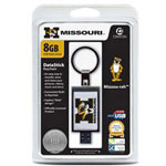 Centon DataStick Keychain Collegiate University Of Missouri Edition - USB Flash Drive - 8 GB