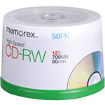 Memorex CD-RW X 50 - 700 MB - Storage Media