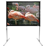 Elite Screens QuickStand Folding Series Q250V - Projection Screen With Legs - 250 In ( 635 cm )