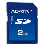 A-DATA™ Speedy Flash Memory Card - 2 GB - SD