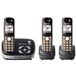 Panasonic KX TG6533B - Cordless Phone W/ Call Waiting Caller ID & Answering System
