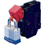 Brady No Hole Circuit Breakerlockout 277 V