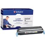 Verbatim Toner Cartridge (Replaces HP C9732A) - 1 x Yellow - 12000 Pages