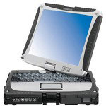 "Panasonic Toughbook 19 - Core 2 Duo SU9300 1.2 GHz - 10.4"""" Tft"