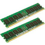 Kingston 4 GB Memory (2 x 2 GB), DIMM 240-pin, DDR II, 533 MHz / PC2-4200 - Non-ECC