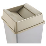 Rubbermaid Beige Square Top