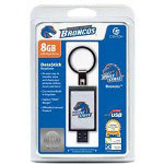 Centon DataStick Keychain Collegiate Boise State University Edition Broncos - USB Flash Drive - 8 GB