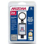 Centon DataStick Keychain Collegiate University Of Arizona Edition Wildcats - USB Flash Drive - 2 GB