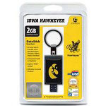 Centon DataStick Keychain Collegiate Iowa University Edition Hawkeyes - USB Flash Drive - 2 GB