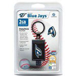 Centon DataStick Keychain MLB Toronto Blue Jays Edition - USB Flash Drive - 2 GB