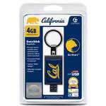 Centon DataStick Keychain Collegiate University Of California - Berkeley Edition Cal Bears - USB Flash Drive - 4 GB