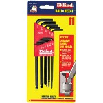 "Eklind Tool Company 12 Piece Set .050"" -5/16"" Long Ball-hex-l Key Sets"